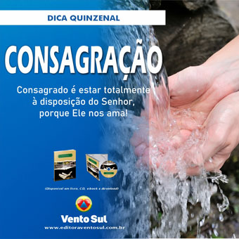 Dica Quinzenal Editora Vento Sul